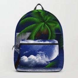 Tropical Moonlight Backpack