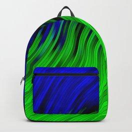stripes wave pattern 2 with lines vtgi Backpack