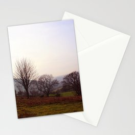 Dusk On The Hills Stationery Cards