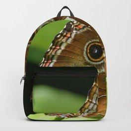 Beautiful Butterfly Wings of Meadow Brown Backpack