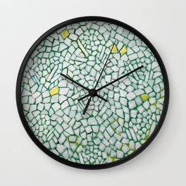 African American Masterpiece White Roses Sing! by Alma Thomas Wall Clock