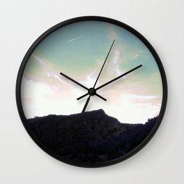 Imagining an autumn afternoon Wall Clock