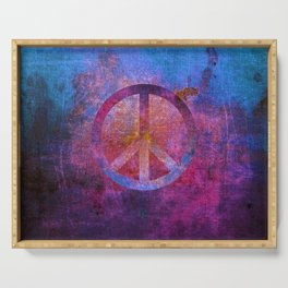 Peace III Serving Tray