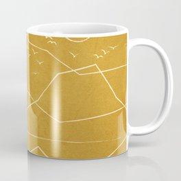 Minimalist Landscape Line Art II Coffee Mug
