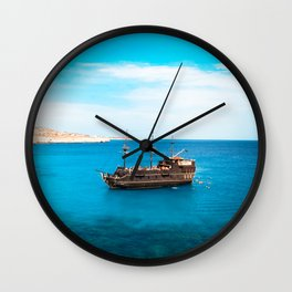 Blue Waters Wall Clock