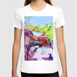 Enoshima Island T-shirt