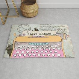 Typewriter #1 Rug