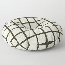Grid Lines Floor Pillow