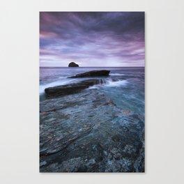 Gull Rock Sunset Canvas Print