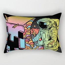 Space Arcade Rectangular Pillow
