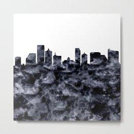 Atlantic City Skyline Metal Print