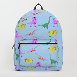 Coloured Dinosaurs Backpack
