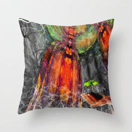 Rebirthing Throw Pillow