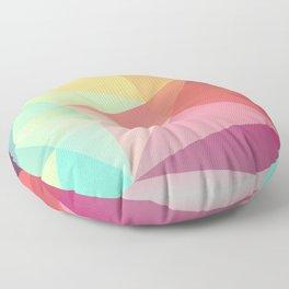 geometric V Floor Pillow