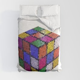 The color cube Comforters