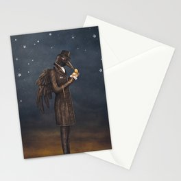 Even miracles take a little time. Stationery Cards