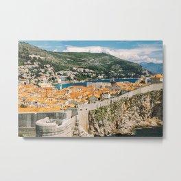 Dubrovnik old city Metal Print