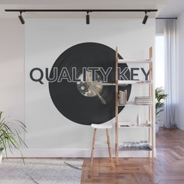 Quality Key: Vinyl Time Wall Mural