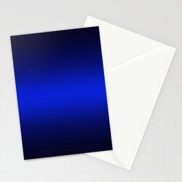 Gradient 8 black blue deepspace Stationery Cards