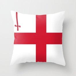 Flag of London Throw Pillow