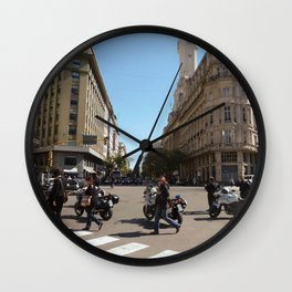 Beautiful Buenos Aires  Wall Clock