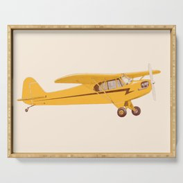 Little Yellow Plane Serving Tray