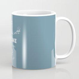 The Lake is Calling Coffee Mug