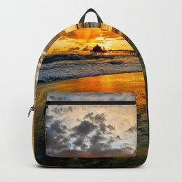 Surf City Sunsets  Backpack