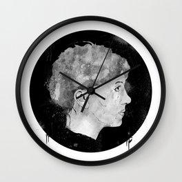 Mugshot The Girl Wall Clock