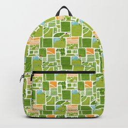 Bird's Eye View of the Countryside Backpack