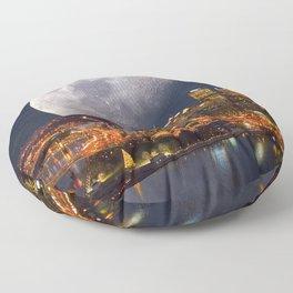 Spacey Pittsburgh Floor Pillow