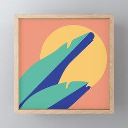 Felicidade Framed Mini Art Print