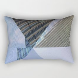 Abstract Architectural Geometric Designs Rectangular Pillow