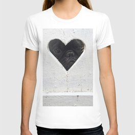 Peeking into your heart T-shirt