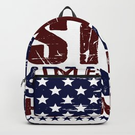 Time To Get Star Spangled Hammered Backpack