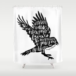 Other People's Futures - The Raven Boys Shower Curtain