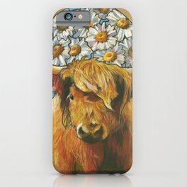 Happy Highlander iPhone Case