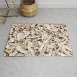 Cocos slices background illustration pattern Rug