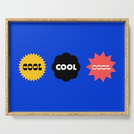 Cool Cubed Serving Tray