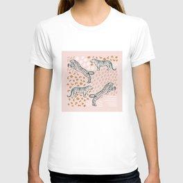 Tiger Print Blush T-shirt
