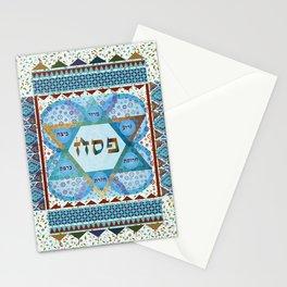 Pessach Star of David Stationery Cards