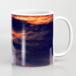 Sunset After Dangerous Tropical Cyclone in Palau Islands Coffee Mug