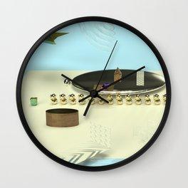 Blender Renderings Wall Clock