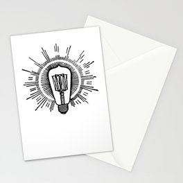 Lightbulb Stationery Cards