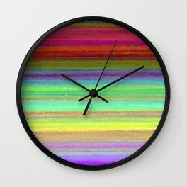 every color 034 Wall Clock