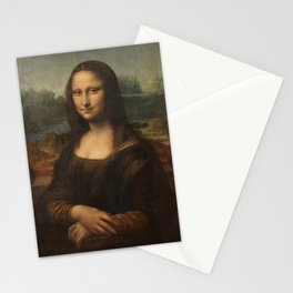 Mona Lisa, Leonardo da Vinci, 1503 Stationery Cards