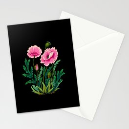 Minhwa: Poppy: Opera B Type  Stationery Cards