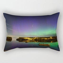 Shooting Star Aurora at Lanes Cove Rectangular Pillow