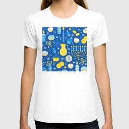 Hanukkah Holidays Joyous Pattern T-shirt