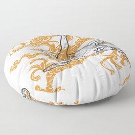 Shaolin Monks Floor Pillow